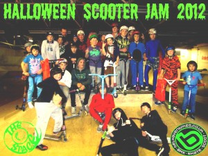 Halloween scooter competition, the Space, East Lothian, supported by Belhaven Bikes