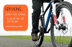 Cycle Servicing Discount Offer Belhaven Bikes, Dunbar, East Lothian bike shop, workshop, repairs