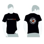 Belhaven Bikes Black BMX Skate Scoot T-Shirt
