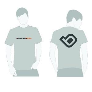 Belhaven Bikes Grey T-Shirt