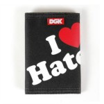 DGK Haters Wallet Black