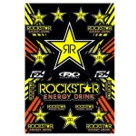 Rockstar Gold Stickers