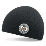 bb bmx skate scoot black beanie wo logo