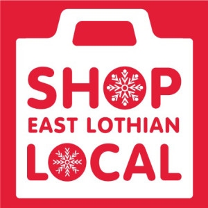 shop local e lothian logo christmas