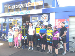 Sean Batty at Belhaven Bikes