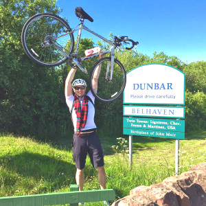Sean Batty reaches Dunbar