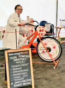 Nancy smoothie bike