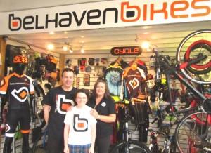 Belhaven Bikes Top 20 UK bike shop
